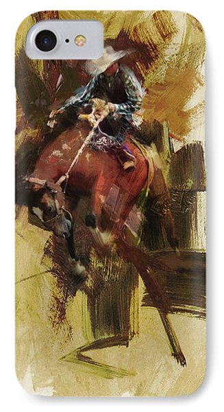 Rodeo 23 IPhone Case by Maryam Mughal