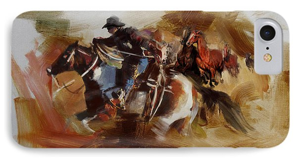 Rodeo 25 IPhone Case by Maryam Mughal
