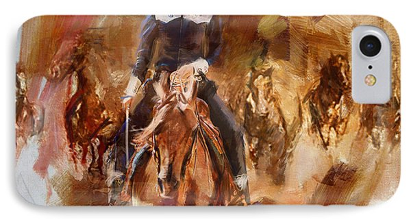 Rodeo 26 IPhone Case by Maryam Mughal