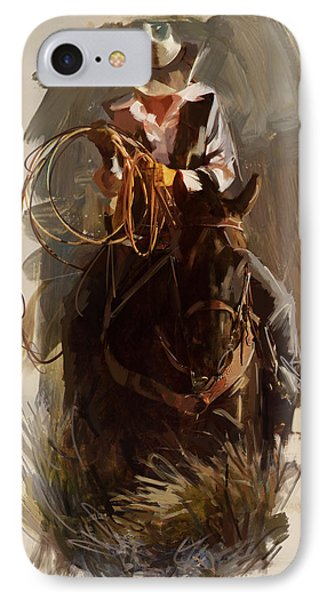 Rodeo 29 IPhone Case by Maryam Mughal