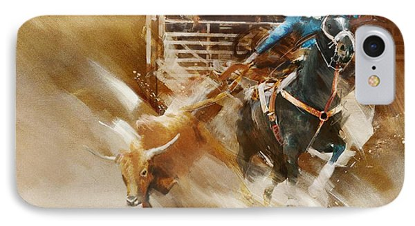 Rodeo 35 IPhone Case by Maryam Mughal