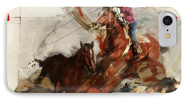 Rodeo 37 IPhone Case by Maryam Mughal
