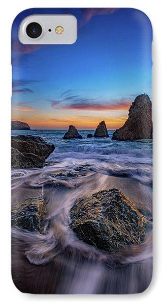 Rodeo Beach Sunset IPhone Case by Rick Berk