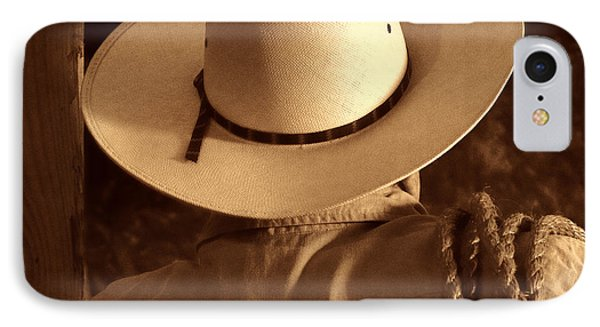 Rodeo Cowboy IPhone Case by American West Legend By Olivier Le Queinec