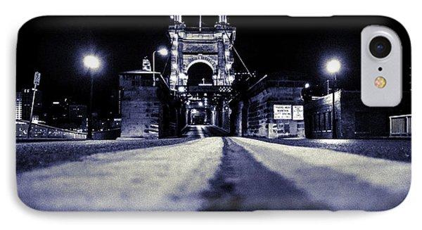 Roebling Suspension Bridge IPhone Case