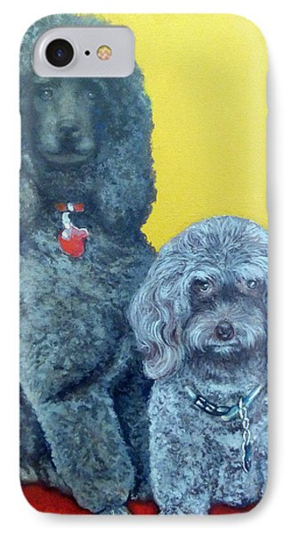 Roger And Bella Phone Case by Tom Roderick