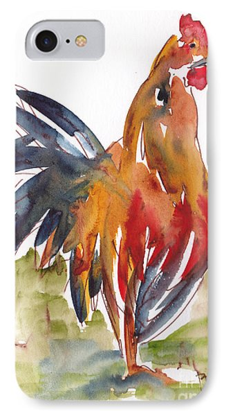 Rognonas Rooster IPhone Case by Pat Katz