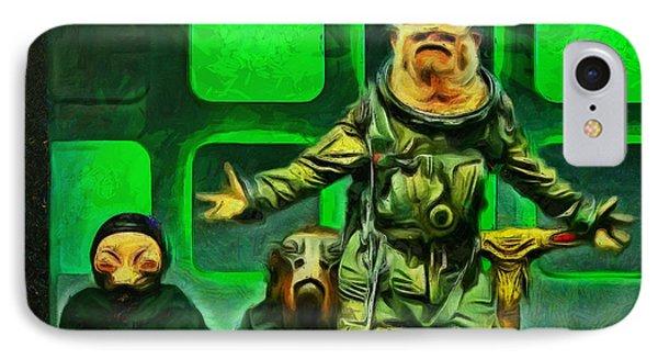 Rogue One Space Monkey - Pa IPhone Case by Leonardo Digenio