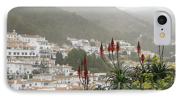IPhone Case featuring the photograph Rojo In The Pueblos Blancos by Suzanne Oesterling