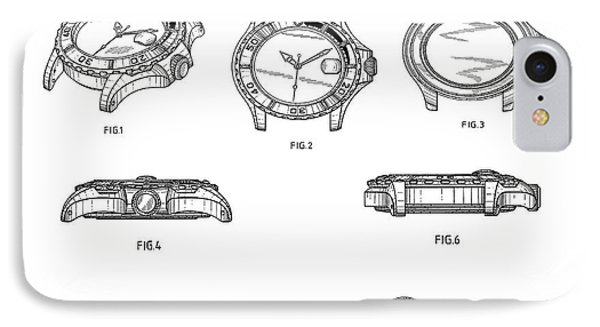 Rolex Watch Patent 1999 IPhone Case