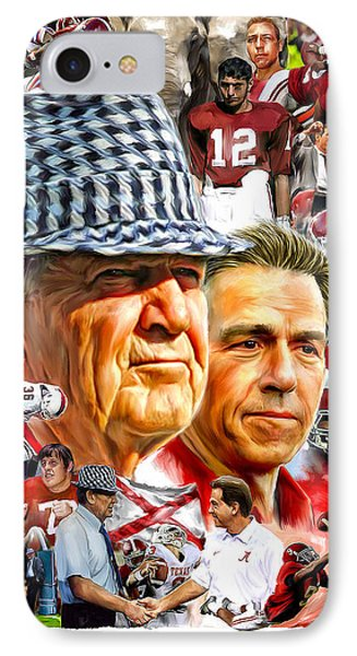 Roll Tide IPhone Case by Mark Spears