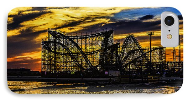 Roller Coaster Sunset IPhone Case
