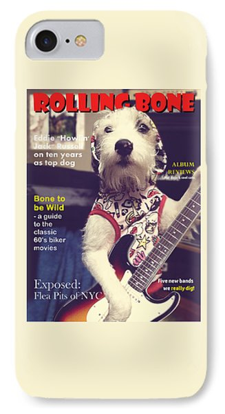 Rolling Bone Magazine IPhone Case by Richard Reeve