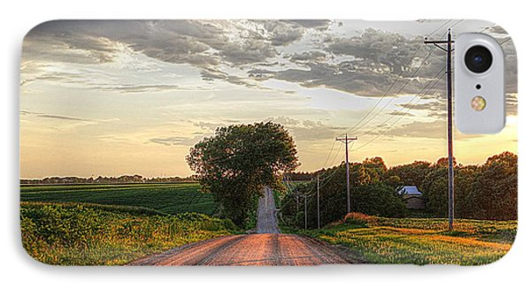 Rolling Down A Country Road IPhone Case