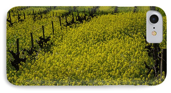 Rolling Hills Of Mustard Grass IPhone Case by Garry Gay