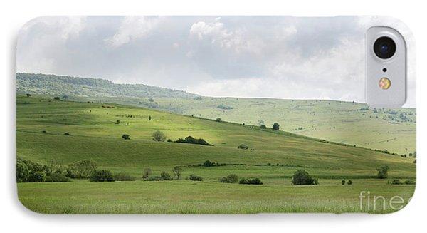 Rolling Landscape, Romania IPhone Case