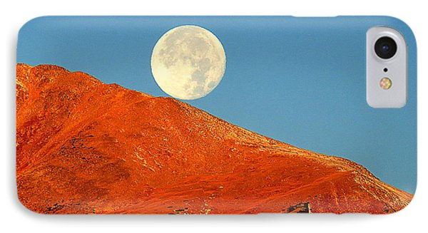 Rolling Moon IPhone 7 Case by Karen Shackles