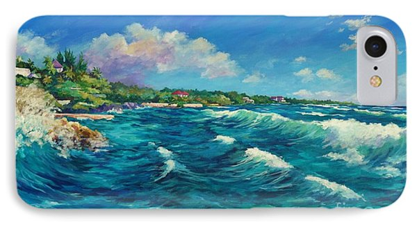 Rolling Waves At Prospect Reef IPhone Case by John Clark