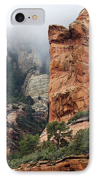 IPhone Case featuring the photograph Rollings Mists by Phyllis Denton