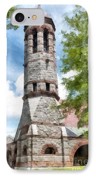 Rollins Chapel Dartmouth College IPhone Case by Edward Fielding