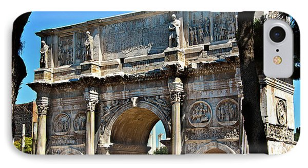 IPhone Case featuring the photograph Roman Arch by Harry Spitz