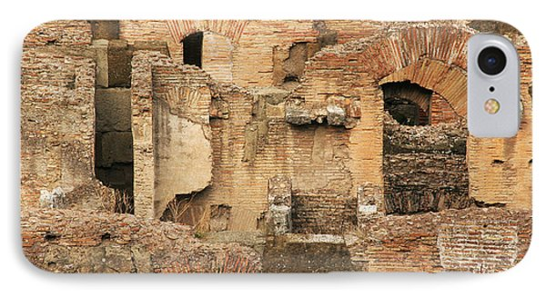 IPhone Case featuring the photograph Roman Colosseum by Silvia Bruno