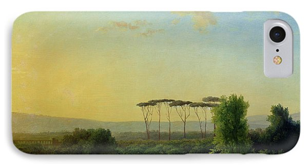 Roman Countryside IPhone Case by Pierre Henri de Valenciennes