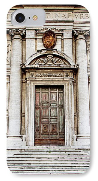 Roman Doors - Door Photography - Rome, Italy IPhone Case by Melanie Alexandra Price