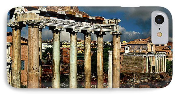IPhone Case featuring the photograph Roman Forum by Harry Spitz