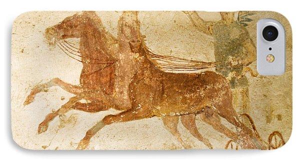 Roman Fresco, Ostia Antica Phone Case by Sheila Terry