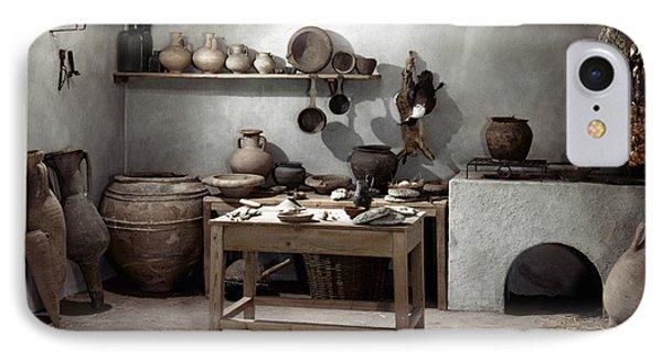 Roman Kitchen, 100 A.d Phone Case by Granger