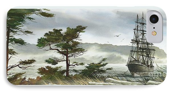 Romance Of Sailing IPhone Case by James Williamson