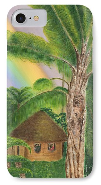 Romancing The Jungle IPhone Case by Robin Grace