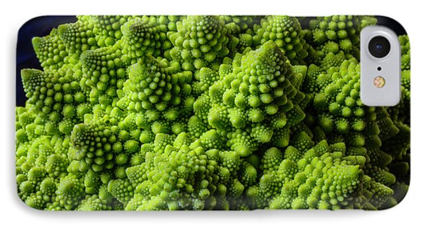 Romanesco Broccoli IPhone Case by Garry Gay