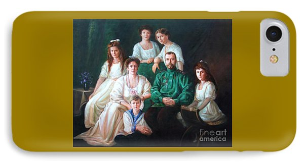 Romanov Family Portrait Phone Case by George Alexander