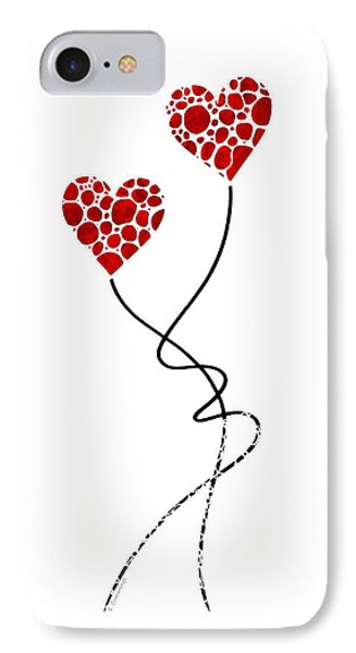 Romantic Art - You Are The One - Sharon Cummings IPhone Case by Sharon Cummings