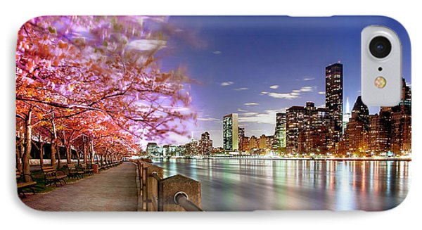 Romantic Blooms IPhone 7 Case by Az Jackson