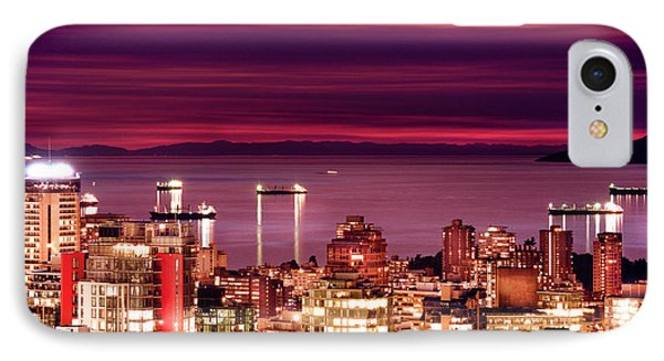 Romantic English Bay IPhone Case by Amyn Nasser