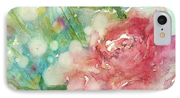 romantic Rose IPhone Case by Judith Levins