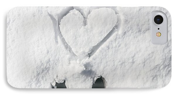 Romantic Snow Vacation IPhone Case by Jorgo Photography - Wall Art Gallery