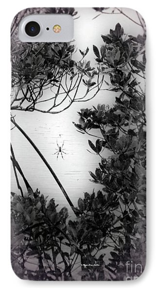 IPhone Case featuring the photograph Romantic Spider by Megan Dirsa-DuBois