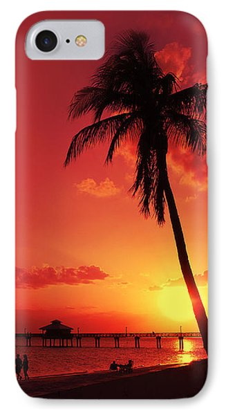 Romantic Sunset IPhone Case by Melanie Viola