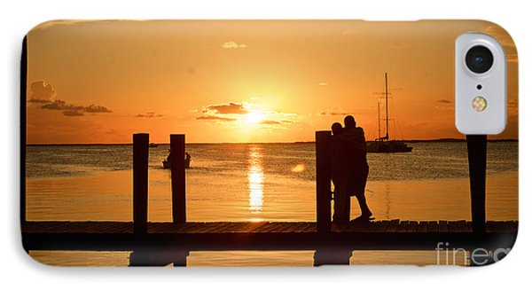 Romantic Sunset IPhone Case by Judy Kay