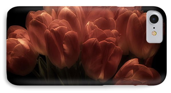 Romantic Tulips IPhone Case by Richard Cummings