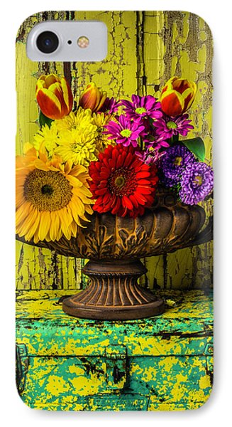 Romantic Vase Still Life IPhone Case