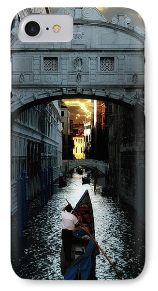 Romantic Venice IPhone Case by Harry Spitz