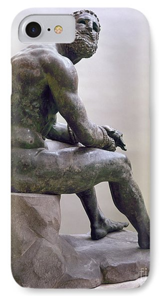 Rome Boxer Sculpture IPhone Case by Granger