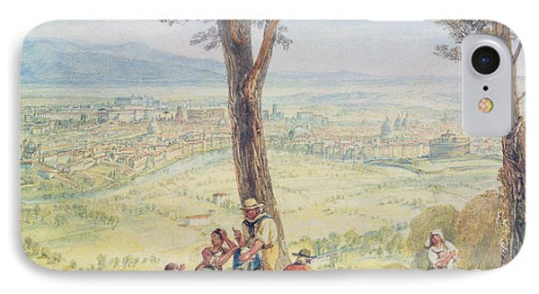 Rome From Monte Mario Phone Case by Joseph Mallord William Turner