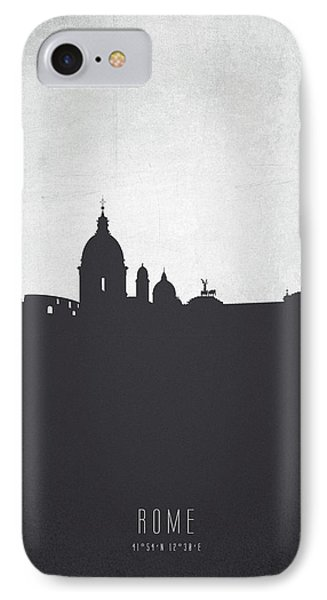 Rome Italy Cityscape 19 IPhone Case