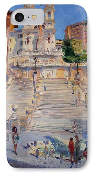 Rome Piazza Di Spagna IPhone Case